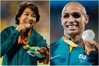 Felipe Gomes e Teresinha de Jesus garantem mais duas medalhas no atletismo
